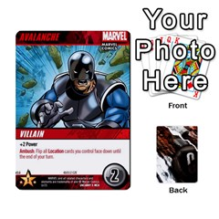 Dcdb Xmen 2 By Mark   Playing Cards 54 Designs   Kz0lqsxp42ru   Www Artscow Com Front - Diamond9
