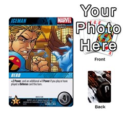 Dcdb Xmen 3 By Mark   Playing Cards 54 Designs   Pn84muycqu58   Www Artscow Com Front - Heart4