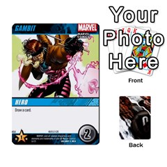 Dcdb Xmen 3 By Mark   Playing Cards 54 Designs   Pn84muycqu58   Www Artscow Com Front - Heart9