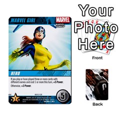 Dcdb Xmen 3 By Mark   Playing Cards 54 Designs   Pn84muycqu58   Www Artscow Com Front - Diamond3