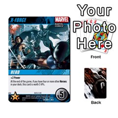 Dcdb Xmen 3 By Mark   Playing Cards 54 Designs   Pn84muycqu58   Www Artscow Com Front - Diamond5