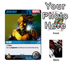 Dcdb Xmen 3 By Mark   Playing Cards 54 Designs   Pn84muycqu58   Www Artscow Com Front - Spade9