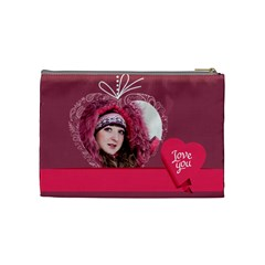 Love By Ki Ki   Cosmetic Bag (medium)   Vyliuznu2v6h   Www Artscow Com Back