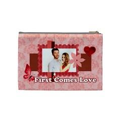 Love By Ki Ki   Cosmetic Bag (medium)   8hahv2y456p5   Www Artscow Com Back
