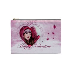 Love By Ki Ki   Cosmetic Bag (medium)   Ecelhnsxc5gp   Www Artscow Com Front