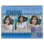 snow - Cosmetic Bag (XXXL)