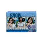 snow - Cosmetic Bag (Medium)
