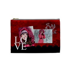 Love By Ki Ki   Cosmetic Bag (medium)   O5gfp00crr9x   Www Artscow Com Front