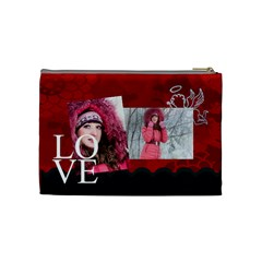 Love By Ki Ki   Cosmetic Bag (medium)   O5gfp00crr9x   Www Artscow Com Back