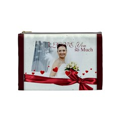 Love By Ki Ki   Cosmetic Bag (medium)   00h32nheycu1   Www Artscow Com Front