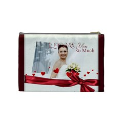 Love By Ki Ki   Cosmetic Bag (medium)   00h32nheycu1   Www Artscow Com Back