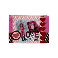 Love By Ki Ki   Cosmetic Bag (medium)   Bpfhu7x3j1dw   Www Artscow Com Back