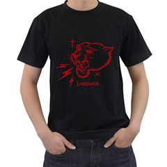 Liberate Mens' T-shirt (Black) by Contest1810159