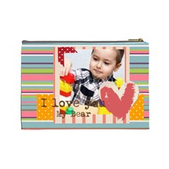 Kids By Kids   Cosmetic Bag (large)   860au0gwc4nc   Www Artscow Com Back
