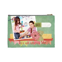 Kids By Kids   Cosmetic Bag (large)   4m7c6soohlhx   Www Artscow Com Back