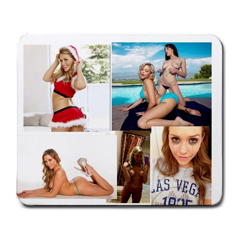 Mia Malkova By Ethan   Large Mousepad   Cjuf0ud2ckvz   Www Artscow Com Front