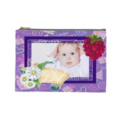 Baby By Betty   Cosmetic Bag (large)   Kw4mi0xiignx   Www Artscow Com Front