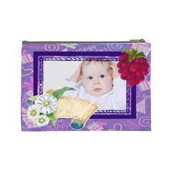 Baby By Betty   Cosmetic Bag (large)   Kw4mi0xiignx   Www Artscow Com Back