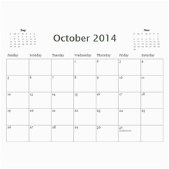 Calendario Duda 2014 By Helena   Wall Calendar 11  X 8 5  (12 Months)   S7xob9sdejxl   Www Artscow Com Oct 2014