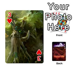 Dota 2 Pack By Arkalagar   Playing Cards 54 Designs   Bm4jc4bk12hy   Www Artscow Com Front - Heart3