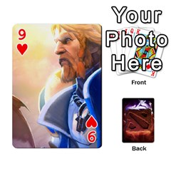 Dota 2 Pack By Arkalagar   Playing Cards 54 Designs   Bm4jc4bk12hy   Www Artscow Com Front - Heart9