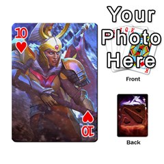 Dota 2 Pack By Arkalagar   Playing Cards 54 Designs   Bm4jc4bk12hy   Www Artscow Com Front - Heart10
