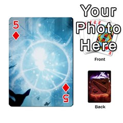 Dota 2 Pack By Arkalagar   Playing Cards 54 Designs   Bm4jc4bk12hy   Www Artscow Com Front - Diamond5