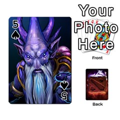 Dota 2 Pack By Arkalagar   Playing Cards 54 Designs   Bm4jc4bk12hy   Www Artscow Com Front - Spade5
