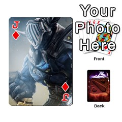 Jack Dota 2 Pack By Arkalagar   Playing Cards 54 Designs   Bm4jc4bk12hy   Www Artscow Com Front - DiamondJ