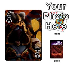 Queen Dota 2 Pack By Arkalagar   Playing Cards 54 Designs   Bm4jc4bk12hy   Www Artscow Com Front - ClubQ