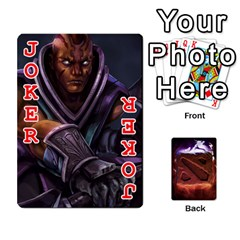 Dota 2 Pack By Arkalagar   Playing Cards 54 Designs   Bm4jc4bk12hy   Www Artscow Com Front - Joker2