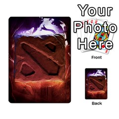 Dota 2 Pack By Arkalagar   Playing Cards 54 Designs   Bm4jc4bk12hy   Www Artscow Com Back
