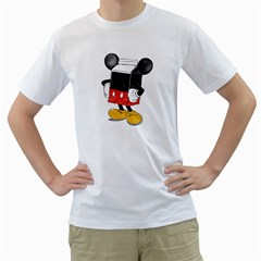 Milky Mouse Mens  T Shirt (white) by Contest1753604
