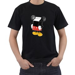Milky Mouse Mens' T Shirt (black) by Contest1753604