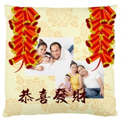 Chinese New Year By Ch   Large Cushion Case (two Sides)   Hm7jmmsnv8lt   Www Artscow Com Front