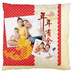 Chinese New Year By Ch   Large Cushion Case (two Sides)   W9hsuqld4je3   Www Artscow Com Front