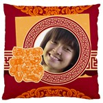 chinese new year - Large Cushion Case (Two Sides)