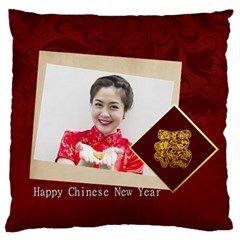 Chinese New Year By Ch   Large Cushion Case (two Sides)   9dx2wk6tlrml   Www Artscow Com Front