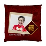chinese new year - Standard Cushion Case (Two Sides)
