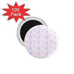 Allover Graphic Soft Pink 1.75  Button Magnet (100 pack) by ImpressiveMoments