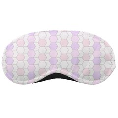 Allover Graphic Soft Pink Sleeping Mask by ImpressiveMoments