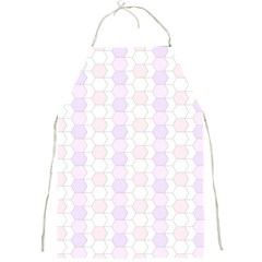 Allover Graphic Soft Pink Apron by ImpressiveMoments