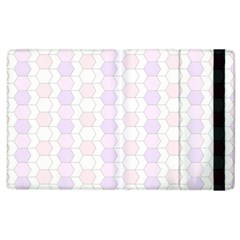 Allover Graphic Soft Pink Apple Ipad 2 Flip Case by ImpressiveMoments