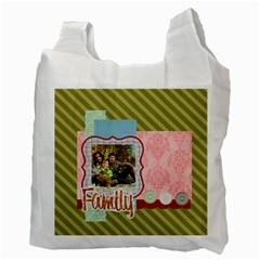 Family By Family   Recycle Bag (two Side)   Ky1kqltn7606   Www Artscow Com Back