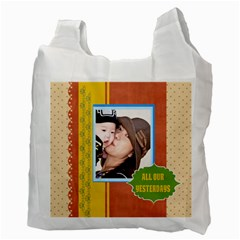 Family By Family   Recycle Bag (two Side)   5fxh96b24ji7   Www Artscow Com Back