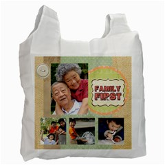 Family By Family   Recycle Bag (two Side)   3g80qv8y61ge   Www Artscow Com Front