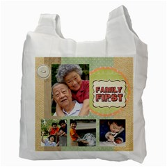 Family By Family   Recycle Bag (two Side)   3g80qv8y61ge   Www Artscow Com Back