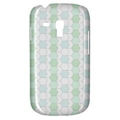 Allover Graphic Soft Aqua Samsung Galaxy S3 Mini I8190 Hardshell Case by ImpressiveMoments