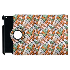 Allover Graphic Brown Apple Ipad 2 Flip 360 Case by ImpressiveMoments