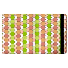 Allover Graphic Red Green Apple Ipad 2 Flip Case by ImpressiveMoments